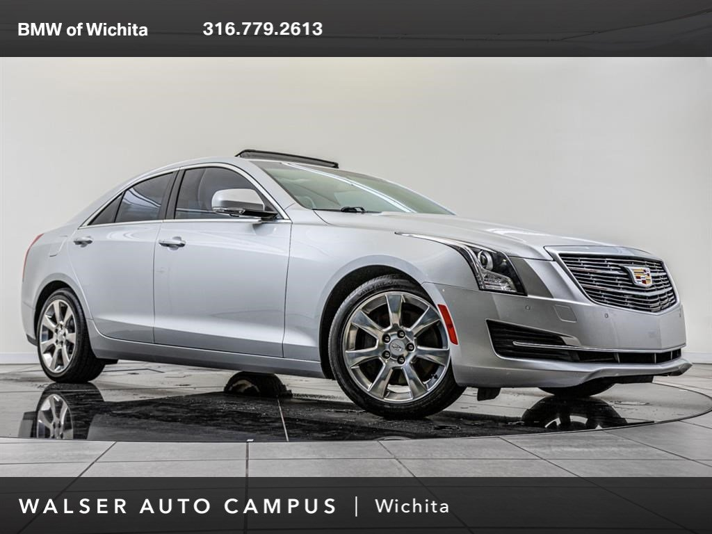 Pre-Owned 2015 Cadillac ATS Sedan Luxury, Navigation