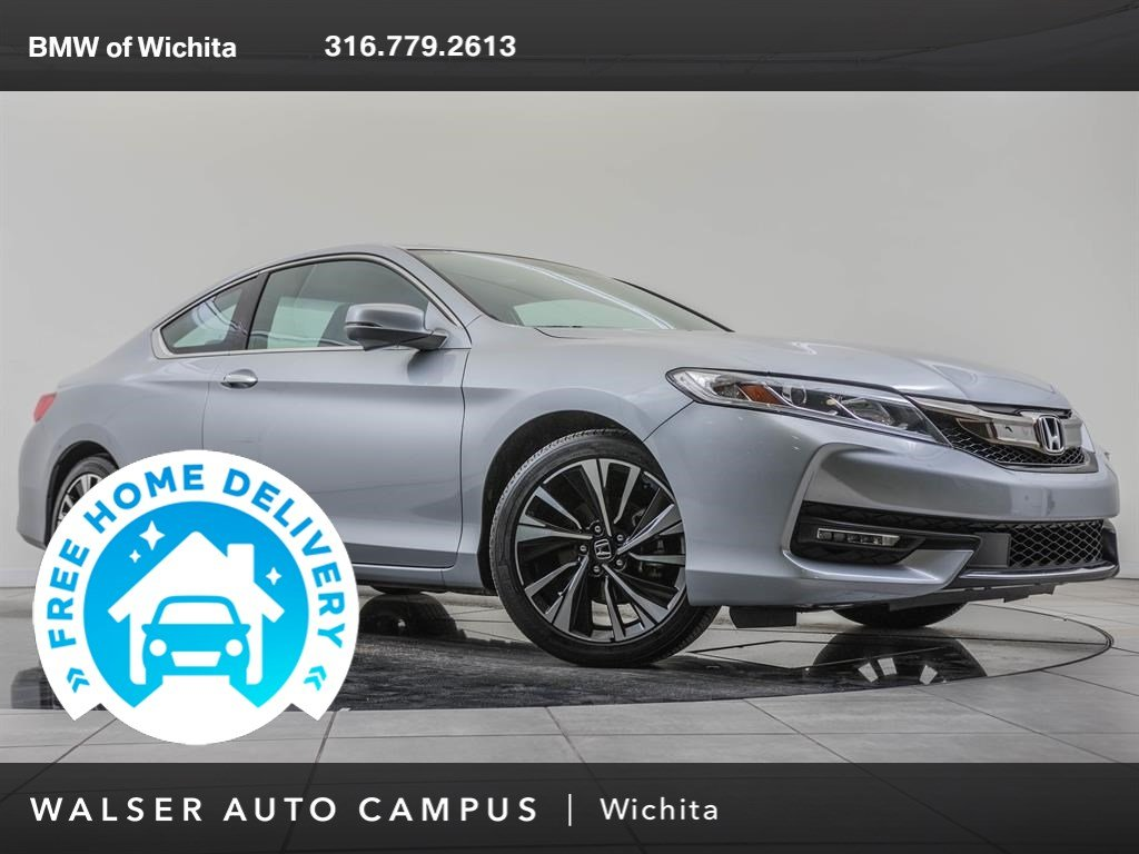 Pre-Owned 2016 Honda Accord Coupe Navigation