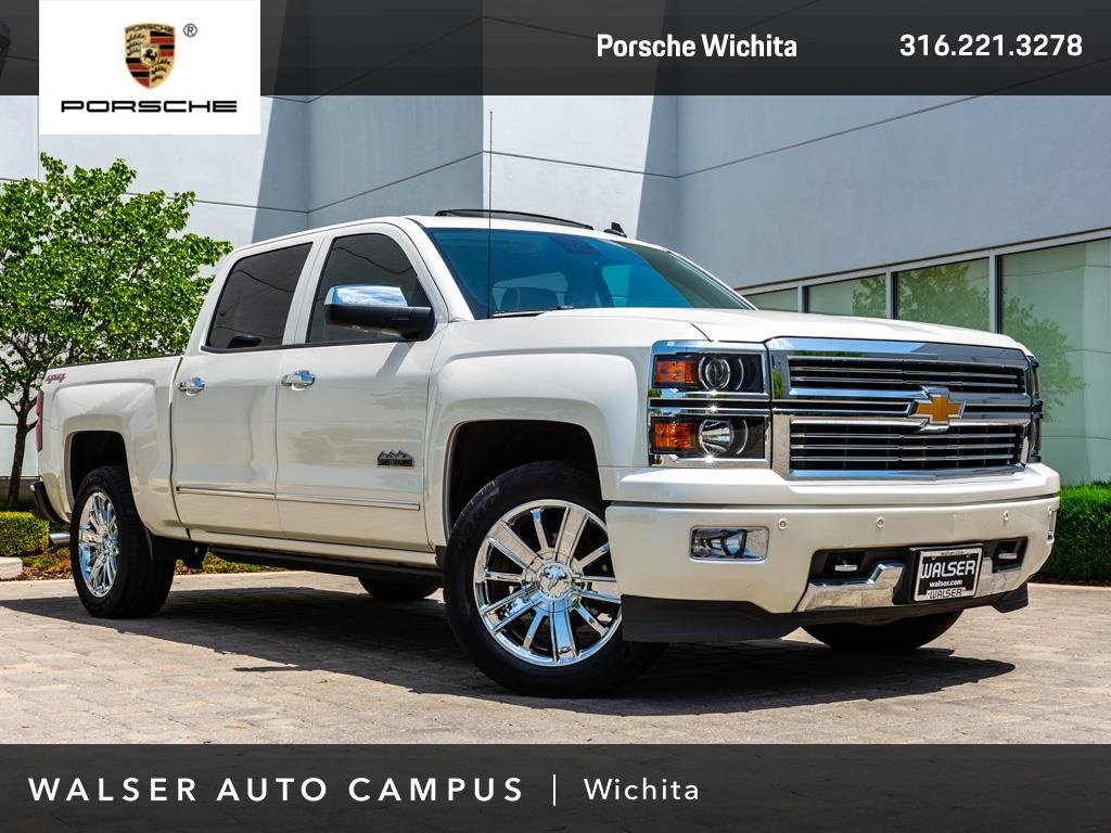 Pre-Owned 2014 Chevrolet Silverado 1500 High Country BOSE, Navigation, Sunroof