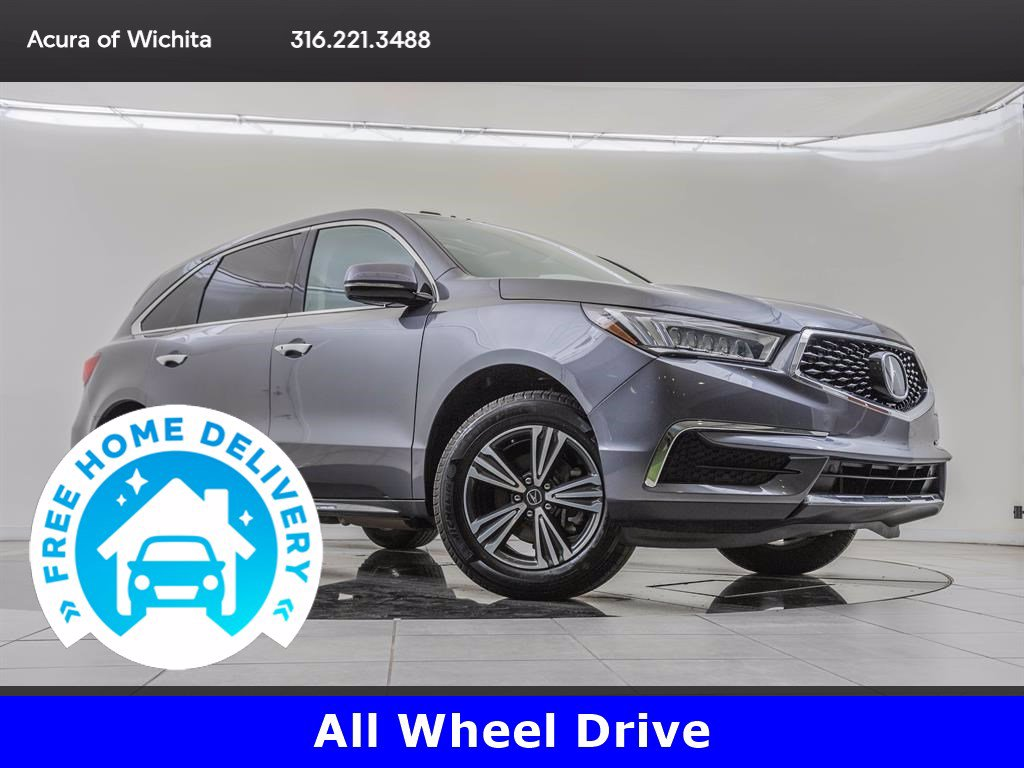 Pre-Owned 2017 Acura MDX 3.5L SH-AWD
