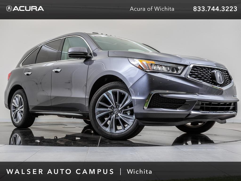 Pre-Owned 2018 Acura MDX SH-AWD Technology Package, Navigation, Moonroof