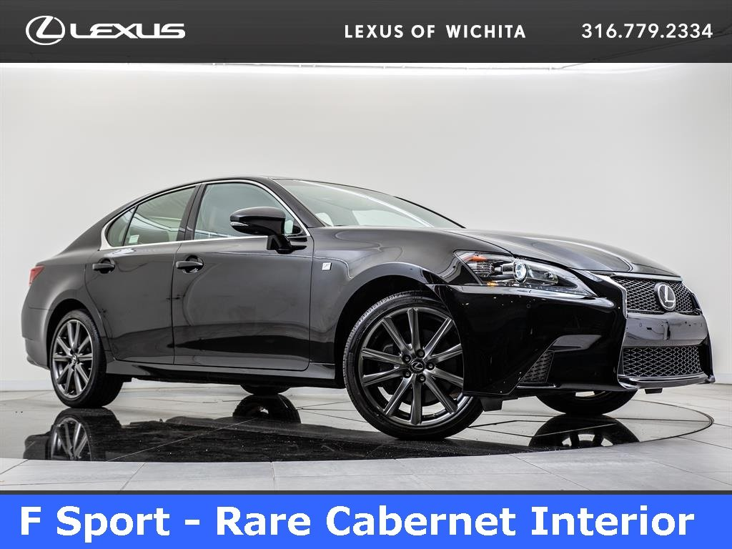 Pre-Owned 2015 Lexus GS 350 F Sport, Navigation, Moonroof, Bluetooth
