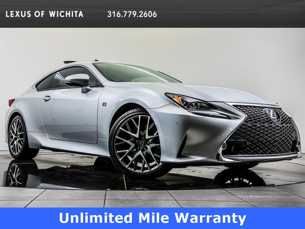 Pre-Owned 2017 Lexus RC 350, F Sport, Navigation