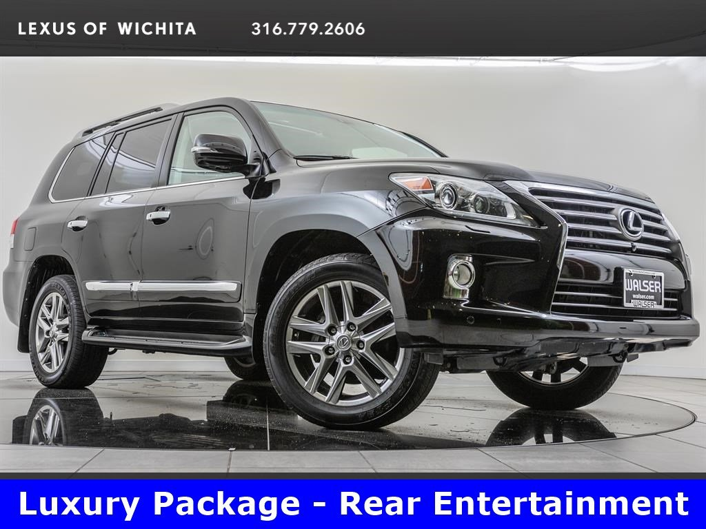 Pre-Owned 2013 Lexus LX 570 Luxury Pkg, Navigation, Rear Seat Entertainment