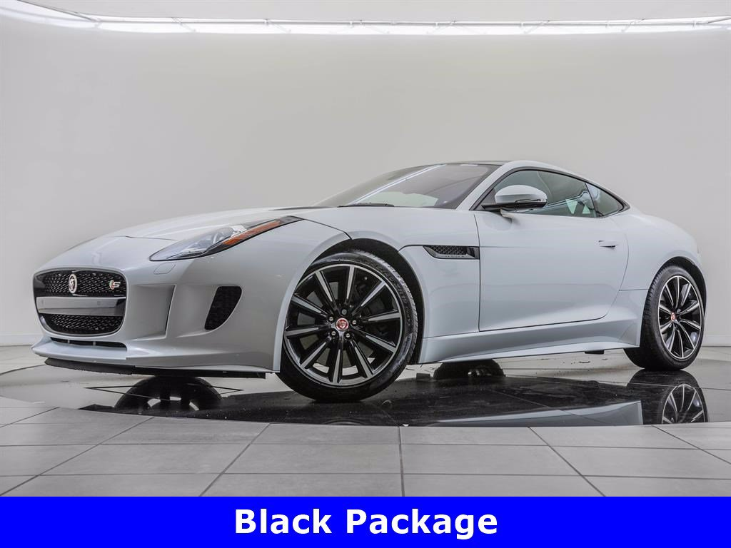 Pre-Owned 2017 Jaguar F-TYPE Black Package