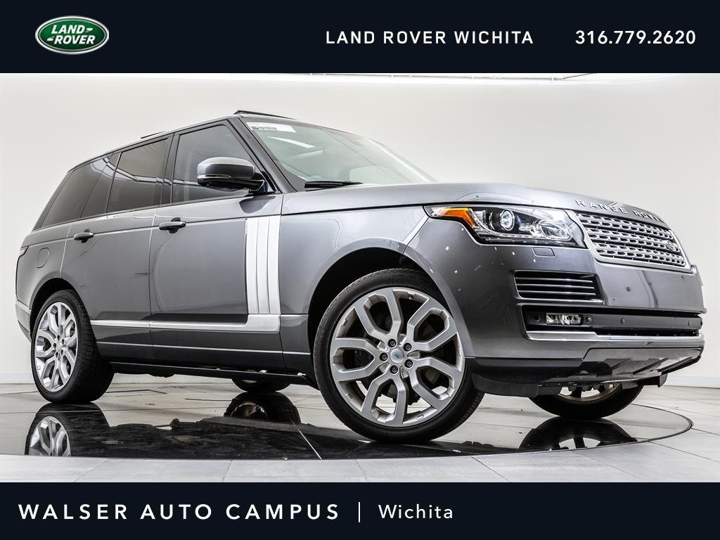 Pre-Owned 2015 Land Rover Range Rover Supercharged Limited Navigatio, RV Camera, Sunroof