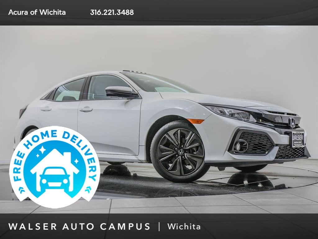 Pre-Owned 2017 Honda Civic Hatchback Moonroof