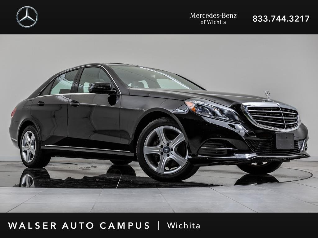 Pre-Owned 2016 Mercedes-Benz E-Class E 350 Sport 4MATIC Navigation, Sunroof, RV Cam