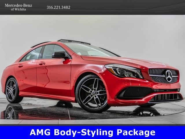 Pre-Owned 2018 Mercedes-Benz CLA CLA 250, AMG® Sport Appearance