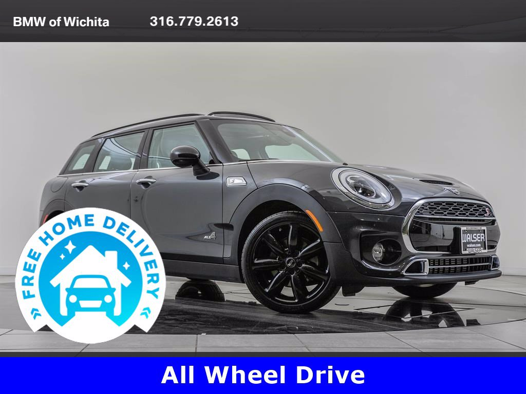 Pre-Owned 2019 MINI Cooper S ALL4 Clubman Iconic Trim Package