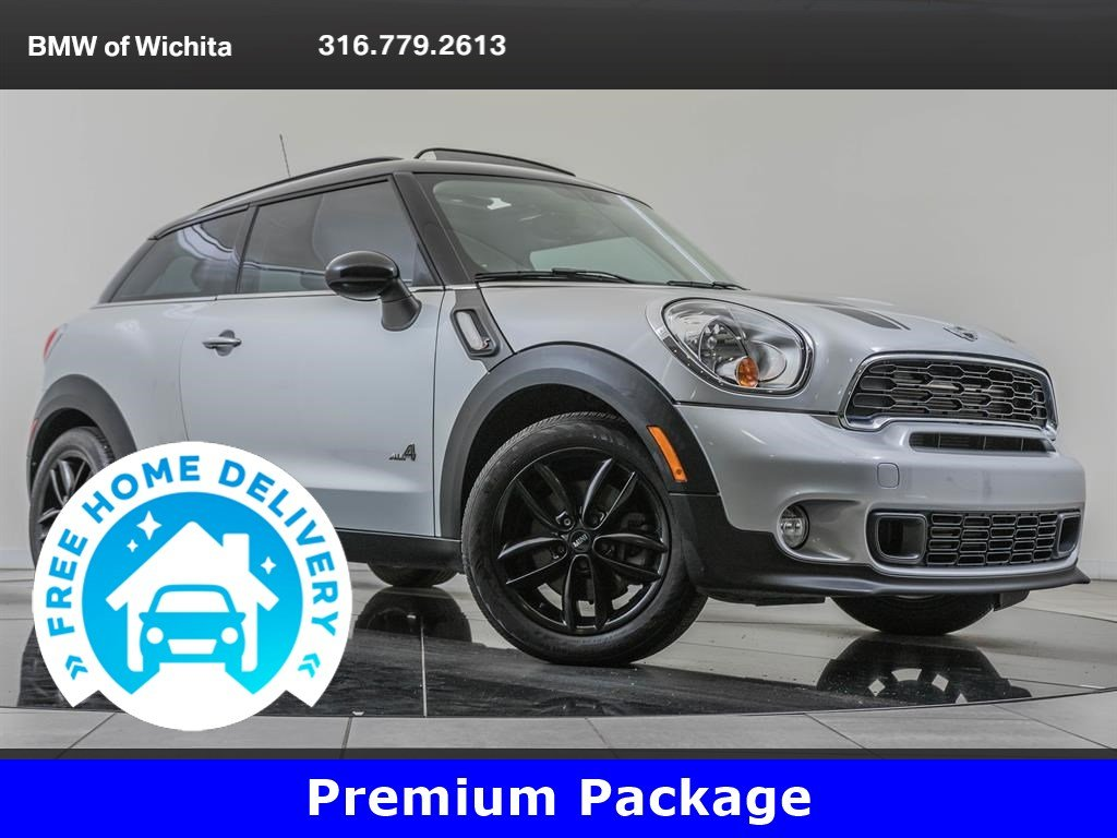 Pre-Owned 2014 MINI Cooper S Paceman Cold Weather & Premium Packages