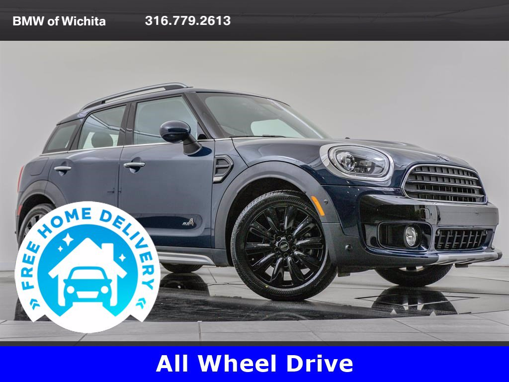 Pre-Owned 2019 MINI Cooper ALL4 Countryman Iconic Trim Package