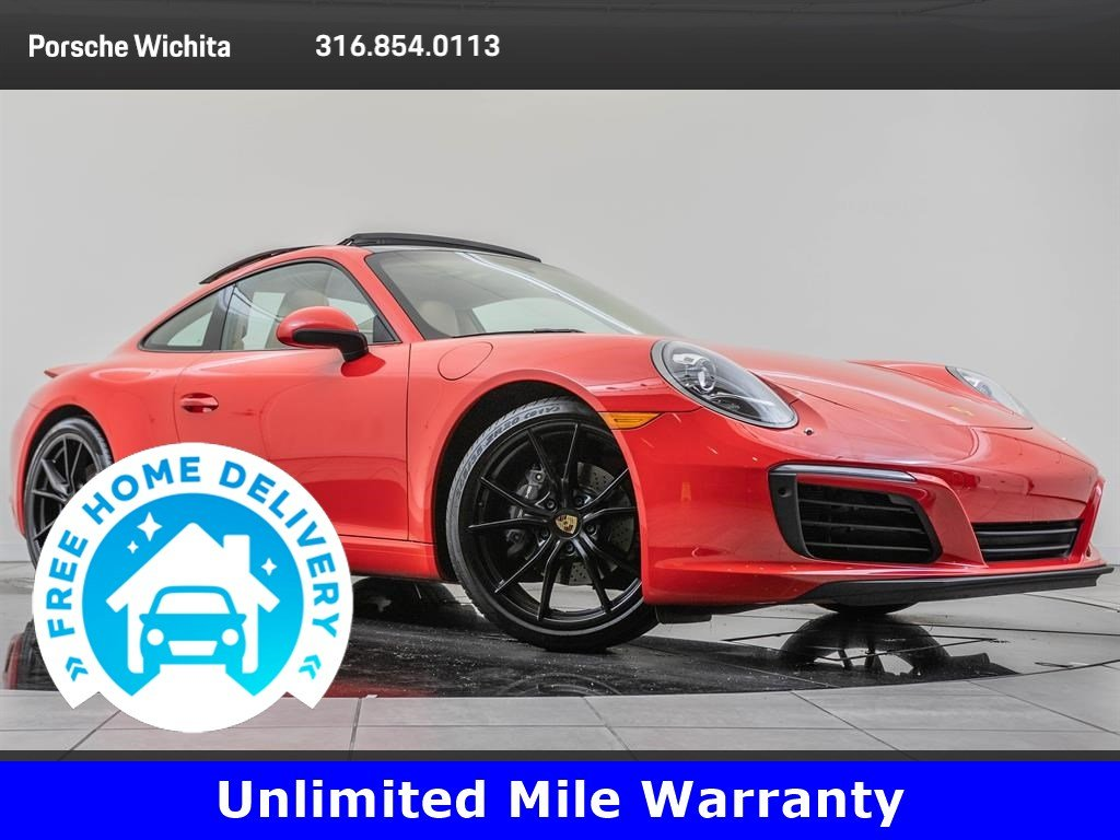 Certified Pre-Owned 2017 Porsche 911 Factory Wheel Upgrade, Premium & Sport Chrono