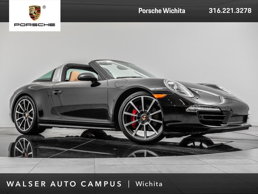 Certified Pre-Owned 2015 Porsche 911 Targa 4S Certified Pre-owned