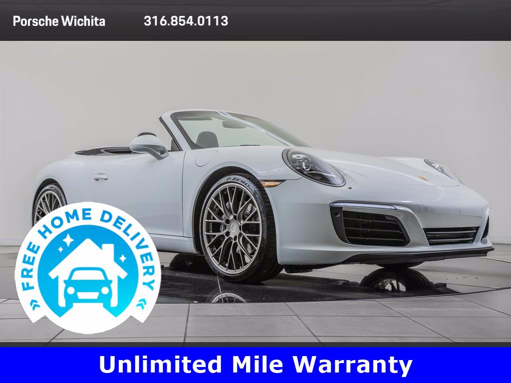 Certified Pre-Owned 2017 Porsche 911 Premium Package