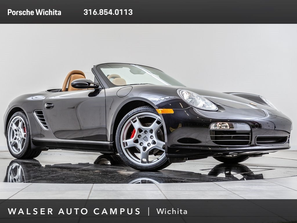 Pre-Owned 2008 Porsche Boxster S, Heated Seats, Porsche Windstop Deflector