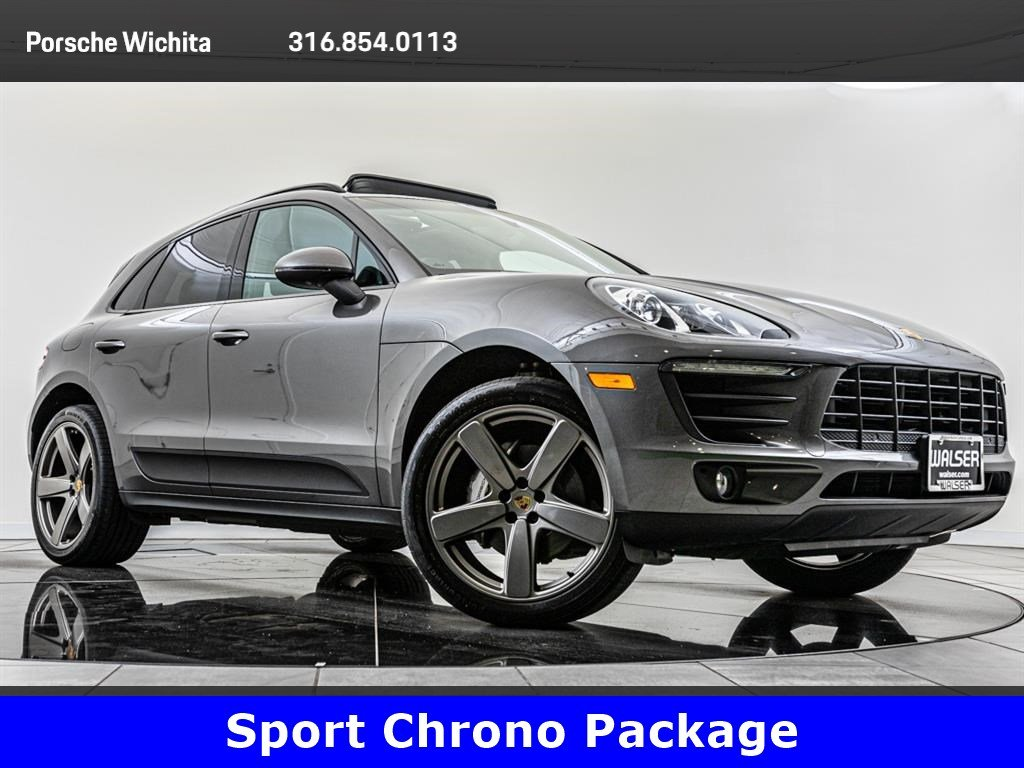 Pre-Owned 2015 Porsche Macan S, Sport Chrono, Premium Package Plus