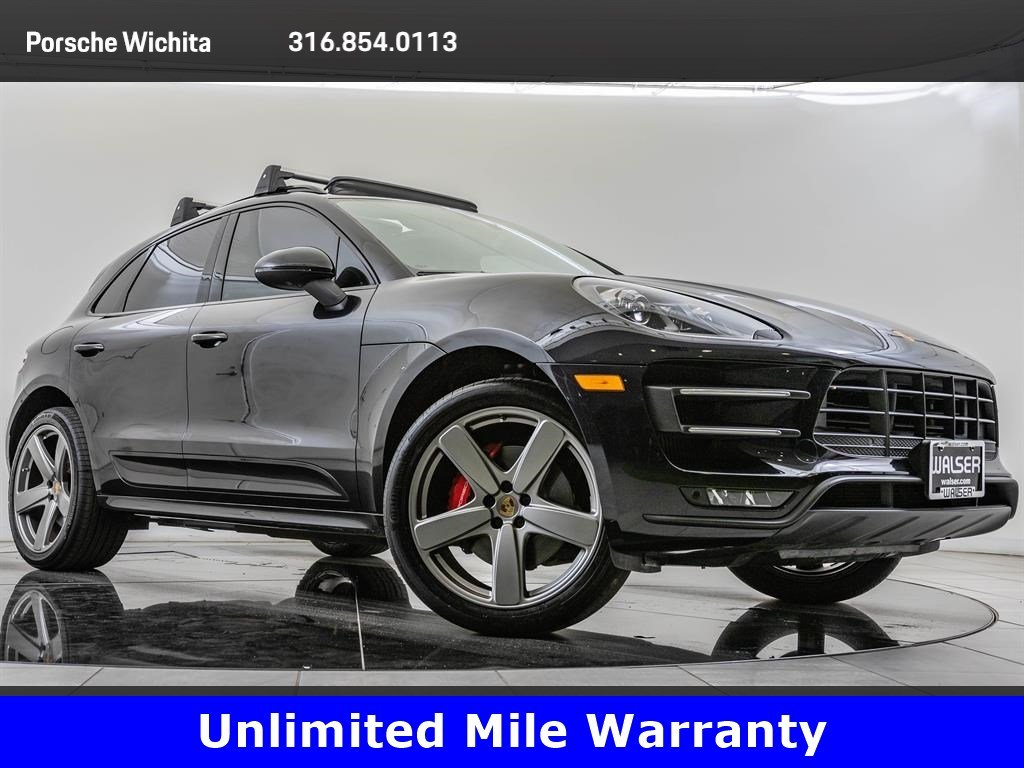 Certified Pre-Owned 2015 Porsche Macan Turbo, Sport Chrono Pkg