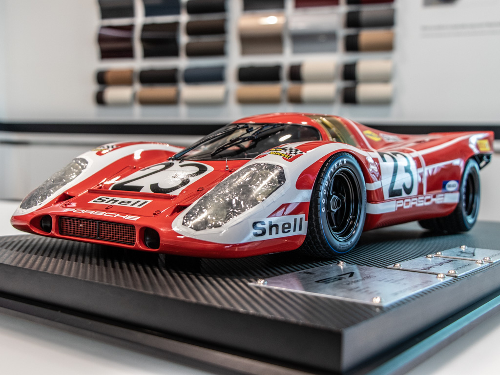 New 1970 Porsche 917 1:8 Scale Race Model Salzburg