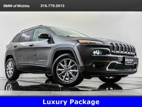 Pre-Owned 2016 Jeep Cherokee Limited, Technology Pkg, Luxury Pkg