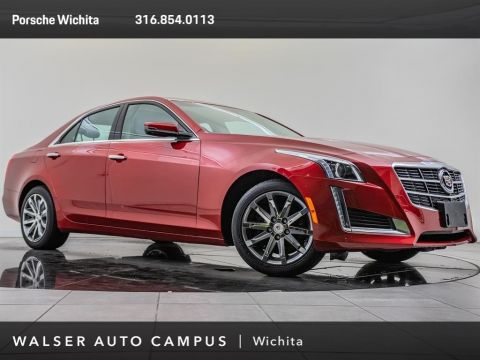 Pre-Owned 2014 Cadillac CTS Sedan LUXU
