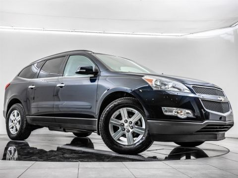 Pre-Owned 2011 Chevrolet Traverse LT1, Rear Entert. Rear View Cam, BOSE
