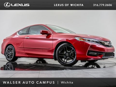 Pre-Owned 2016 Honda Accord Coupe EX-L, Rear View Camera, Bluetooth, Moonroof