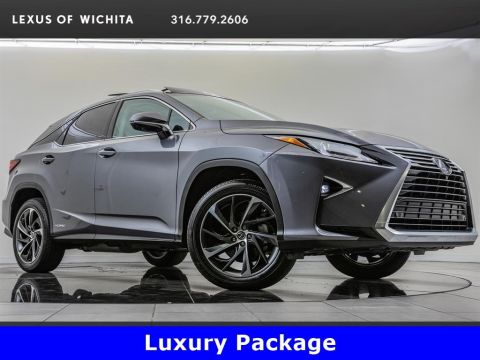 Pre-Owned 2018 Lexus RX 450h, Luxury Package, Navigation