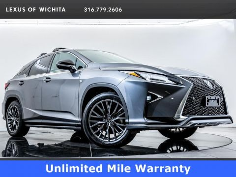 Pre-Owned 2018 Lexus RX L/ Certified,F SPORT, Navigation, Moonroof