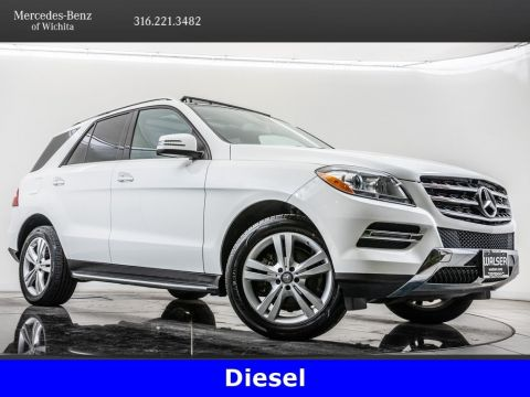 Pre-Owned 2015 Mercedes-Benz M-Class ML 250 BlueTEC®, Diesel, 1-Owner