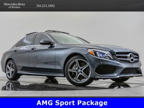 Pre-Owned 2016 Mercedes-Benz C-Class C 300 Sport 4MATIC®, Sport Pkg
