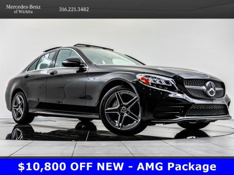 Pre-Owned 2019 Mercedes-Benz C-Class C 300 4MATIC, AMG® Wheels