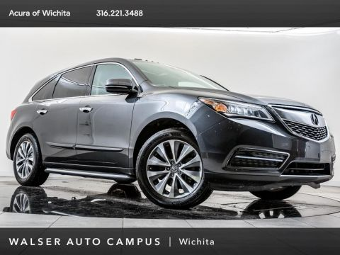 Pre-Owned 2014 Acura MDX Technology Package, Navigation, Moonroof, RV Cam