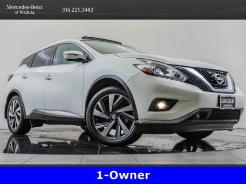 Pre-Owned 2015 Nissan Murano Platinum, Navigation, 360-Degree Camera