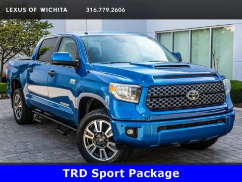 Pre-Owned 2018 Toyota Tundra 4WD TRD Sport Package, TRD Performance Exhaust