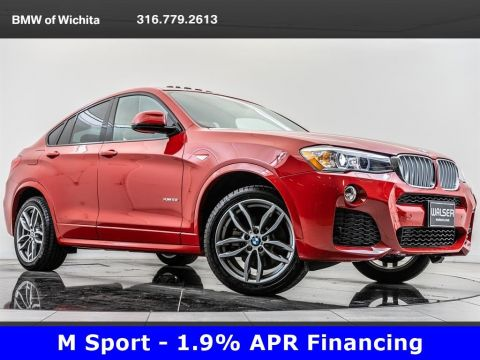 Pre-Owned 2018 BMW X4 xDrive28i, M Sport, 19-inch M Wheels