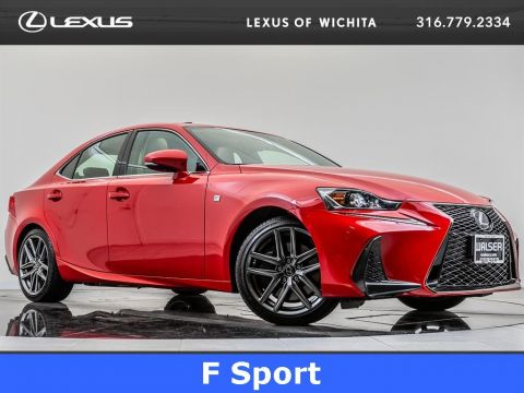Pre-Owned 2017 Lexus IS F Sport, Mark Levinson, Navigation, Moonroof
