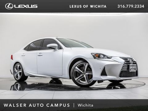 Pre-Owned 2017 Lexus IS Navigation, Moonroof, Blind Spot Monitor, RV Cam