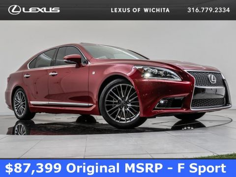 Pre-Owned 2015 Lexus LS 460 F Sport, Mark Levinson, Navigation, Moonroof