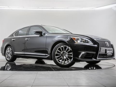 Pre-Owned 2016 Lexus LS 460 L/ Certified, Navigation, Moonroof, Blind Spot Mon