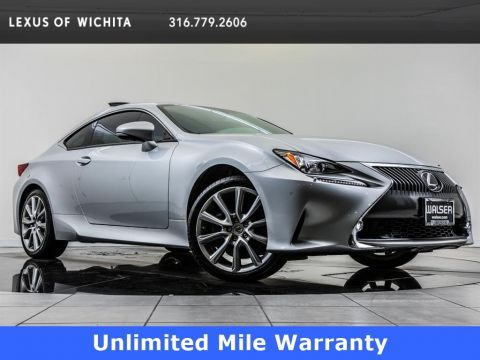Pre-Owned 2015 Lexus RC 350 Navigation, Factory Wheel Upgrade