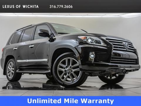 Pre-Owned 2015 Lexus LX 570 Rear Seat Entertainment, Luxury Package