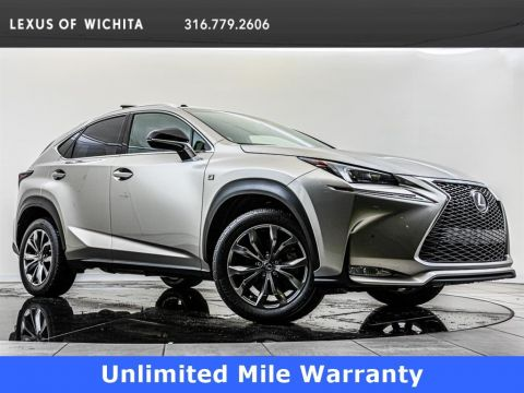 Pre-Owned 2017 Lexus NX F Sport, Navigation, F Sport Wheels