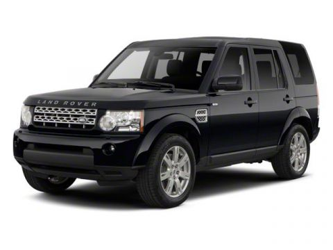 Pre-Owned 2013 Land Rover LR4 7 SEAT LUX BLK PAC