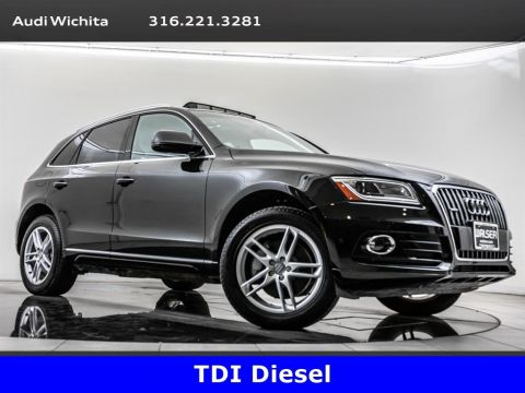 Pre-Owned 2015 Audi Q5 TDI Premium Plus quattro, Panoramic Roof, Navigate