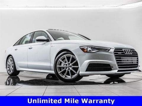 Pre-Owned 2017 Audi A6 3.0T quattro, 19-Inch Whls, Sport Suspension