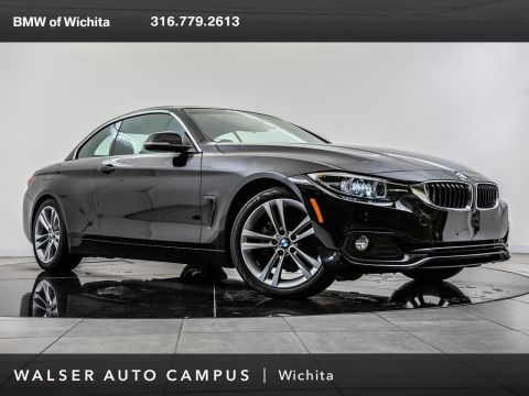 Pre-Owned 2018 BMW 4 Series 430i, Navigation, Rear View Camera, Heated Seats