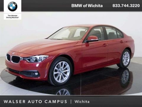 Pre-Owned 2018 BMW 3 Series 320i xDrive Moonroof, RV Camera, Blind Spot Detect