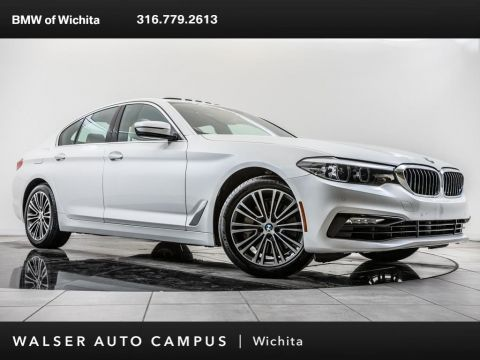 Pre-Owned 2018 BMW 5 Series 540i, Head-Up Display, Apple CarPlay, RV Camera