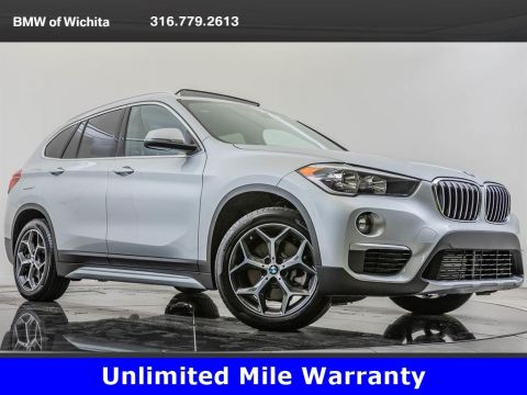 Pre-Owned 2018 BMW X1 xDrive28i, Unlimited Mile Warranty